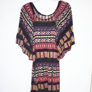Voll tribal print tunic sz L